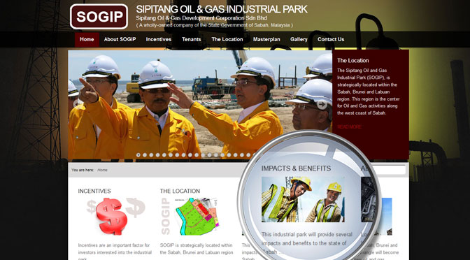 Sipitang oil & Gas Industrial Park